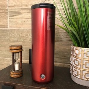 NWT Starbucks Red Vacuume-Insulated Tumbler